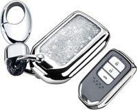 Copertura della custodia della custodia della protezione della placcatura della chiave della chiave della chiave della macchina per Honda Civic, Accord, CR-V, Pilota