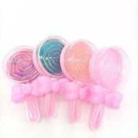 거짓 속눈썹 속눈썹 패키지 도매 12pcs / 24pcs 라운드 케이스 캔디 Eyalsh 3D 5D 스트립 하드 플라스틱 속눈썹 상자