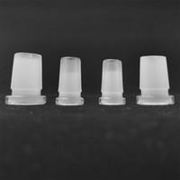 Tasarım Mini Dönüştürücü Cam Adaptörü 10mm Kadın için 14mm Erkek, 14mm Kadın Kuvars Banger Cam Bongs Dab Rigs Için 18mm Erkek