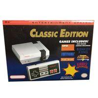 새로운 레트로 게임 TV 비디오 핸드 헬드 게임 콘솔 엔터테인먼트 시스템은 미니 NES 게임을위한 30 게임을 저장할 수 있습니다.