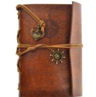 Vintage Jardin Travel Diary Livres Kraft Papers Journal Notebook Spirale Pirate Notepads pas cher Étudiante Étudiante Livres classiques
