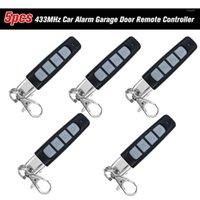 433MHz Allarme auto Garage Porta Remote Controller Duplicatore Clone Clode Scanner Trasmettitore Allarme di sicurezza 4 tasti Telecomando1