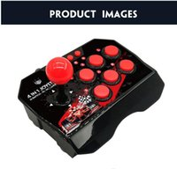 4-en-1 palillo de palanca de mando del juego estación de arcade retro con cable USB eje de balancín de la lucha por un conmutador de consola de juegos vs x12 x40 factoría de salida