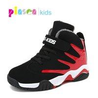Pinsen Spring детская обувь для мальчиков кроссовки для девочек спортивная обувь детский досуг Tenis Infantil повседневная теплые бегущие детские туфли Y200103