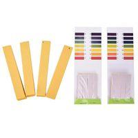 1-14 Carta di prova 160-320Strips PH Test Strips Full range acido alcalino Litmus Aquarium Pond Test Acqua Test PH LightMus Paper