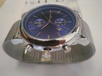 Top Designer Men's Watch 43mm Steel de acero inoxidable Moda casual Reloj deportivo de cuarzo militar Reloj de acero Reloj de hombre Relogio masculino