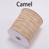 10m / lote 1.0 1.5mm negro blanco cuerda de algodón cuerda cuerda cuerda de cuerda ajuste abalorios artesanía bricolaje collar para joyería haciendo wmxtg