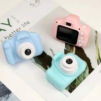 2021 x2 enfants mini caméra enfants jouets éducatifs pour bébés cadeaux cadeau anniversaire cadeau numérique 1080p Projection vidéo Shooting