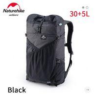 Naturehike 30 + 5l حقيبة التخييم ظهره خفيفة 0.6 كيلوجرام XPAC للماء الرياضة المشي حقيبة السفر مع أنابيب المياه