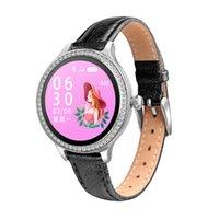 Neue M8 Damen Smart Armband Schlaf Erinnerung Blutdruck Herzfrequenz Monitor Sport Tracker Smartwatch IP68 Connect ios Android