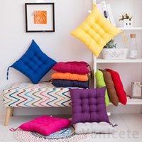 40 * 40 cm cuscino sedile antiscivolo Soft Comfort Seat Seat Seat Pad Patio Colore solido Cucina indoor Pranzo per ufficio Sedia cuscino 30pcs T1I3482