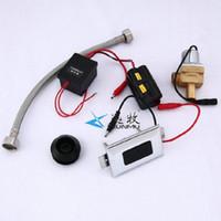 Zestaw akcesoriów kąpielowych Christmas zintegrowany pisuarowy automatyczny induktor indukcyjny zawór