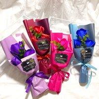 Sabun Gül Çiçek Kız Arkadaş Sevgililer Günü Hediye Çiçek Hediye Kutuları Düğün Dekor Sabun Çiçek Doğum Günü Partisi Süslemeleri W-00631