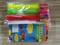111psc colorido agua llena globos verano niños jardín fiesta al aire libre juego en los juegos de agua para juguetes para niños rápido Fácil de llenar de agua 07