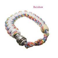 Bracelet de perle de métal portable fumant pipe bracelet tuyaux multi-couleurs hommes femmes cool cadeaux nœuds accessoires fumeurs