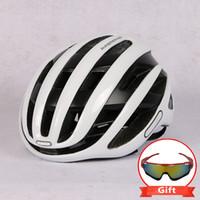 Casco da ciclismo Racing Bike Bike Aerodinamica Aerodinamica Vento Uomini Sport Aero Elmetti Bicicletta Casco Ciclismo B1205