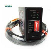 Detector do laço do canal dobro para a detecção do carro com o uso do fio da bobina do sensor de 50m 0.75mm para o sistema de estacionamento