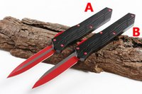 Micro A1 Automatic Knife D2 Double Action EDC Pocket Bench TheOne Survival Auto Knives BM 3300 3310 3400 C07 A07 A16 UT85 Infidel
