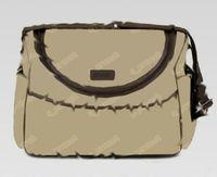 Borse a spalla delle borse a tracolla di tela di tela di New Womens Brown Brown Black Nero Pink Baby Bags Borse Mummy Madre Borse
