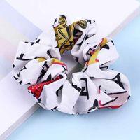 Vendita calda fascino moda lettera donne anelli vintage yoga signora fascia fascia femminile capelli elastici per capelli accessori accessori partito regalo