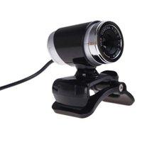 Hot HD Веб-камера веб-камеры 360 градусов Цифровые видео USB 480P 720P PC Webcam с микрофоном для ноутбука настольный компьютер аксессуар