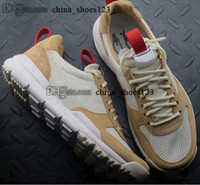 Uomini 35 Tom Sachs Size US 11 TS NASA 2 Athletic Running Donne Scarpe da scarpe da ginnastica EUR 45 Artigianato Mars Yard Trainerirs 5 Zapatos Sport Schuhe Joggers