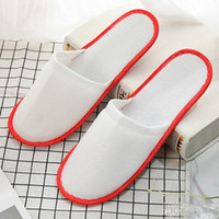 Atacado Hotel Hotel Spa Anti-Slip Display Chinelos Home Guest Shoes Multi-cores Respirável Soft Drippers DH0606 T03