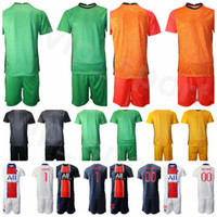Portero París Germain Portero GK 1 Keylor Navas Soccer Jersey 16 Sergio Rico Nicolas Douchez Alphonse Areola Football Shirt Kits