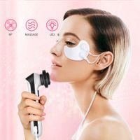 5 en 1 Dispositivo de belleza útil Anti-Envejecimiento Vibración Massager Masajeador de Eye RF Mascarilla de ojo de colágeno
