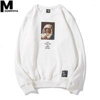 2020 Vierge Mary Imprimer Manches longues Hommes Sweat-shirt Hommes Pullover Streetwear Hip Hop Hook Hook Hoodies Sweatshirts1