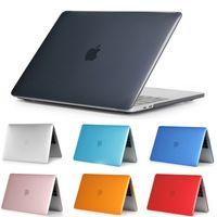 ماتي بلاستيك من البلاستيك الصلب الكامل غطاء لحمامات كمبيوتر محمول ل Macbook Air 11 13 Pro 13 15 Pro Retina 13 15 12