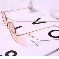 72cm cobre corda óculos cadeia de leitura óculos cabos de metal óculos de sol mulheres óculos espetáculos Óptica fra jllodw