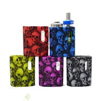 Skull Silicone Case for Pico Baby Skull Head Silicone Cases Protective Cover Colorful Pico Baby Soft Rubber Skin Protector Ecig DHL Free