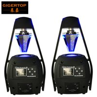 Freeshipping 2 stks / partij LED-scanner Light 5R MSD 300W Stage Effect Licht Roller Scanner DMX 512 Tafelmatig Roterende 3Pin DMX512 voor Club Disco