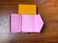 지갑 여성 지갑 지퍼 가방 여성 디자이너 지갑 지갑 패션 카드 홀더 포켓 짧은 여성 가방 상자