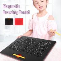 33 ... Картина написание доски Детская магнитная стальная мяч рисования доска детей обучающие игрушечные подарки LJ200922