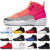 Barato 12 12s FIBA CNY MENS Baloncesto Zapatos de baloncesto Retroceso Juego de taxi Royal Blue Gym Red Wings Hombres Deportes Deportes Sneakers Entrenadores Zapatillas 7-13