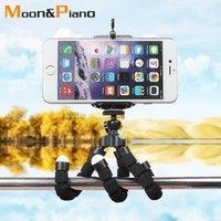 Tripodlar Cep Telefonu Esnek Tutucu Ahtapot Tripod Braketi Kararlı Kaymaz Kamera Selfie Standı Monopod Po Çıkarılabilir Destek 1