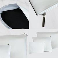 Sublimazione Blank Portafoglio Blank Originality Source Materiale Borsa in tela 3 Size Nuovo Arrivo Bianco Transfer Transfer Trucco Cosmetico Borse cosmetici 8 5YT M2