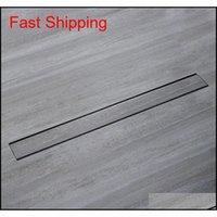 304 الفولاذ المقاوم للصدأ الحمام المطبخ الطابق استنزاف 100 سنتيمتر الصبور النفايات الخطي دش استنزاف 80 سنتيمتر إدراج طويل f jlquw outbag2007