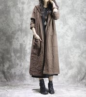 Women Loose Knitted Trench Coat Outwear Female Wrinkle Hooded Coat Knitwear Female Solid Color Overcoat Ladies Retro Vintage