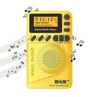 Radio P9 Mini DAB Digital FM Demodulator Eingebauter Lautsprecher Portable MP3-Player zum Gehen Laufende Fitness Freizeit