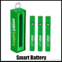 Batterie intelligente 510 Batterie de filetage Pens de vape Préchauffez la batterie Tension de la batterie Tension Variable pour SmartCart Epais Vaporisateur Pen Box Emballage