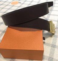 2020 가죽 벨트 디자이너 벨트 남성 여성 남성 벨트 레알 편지 최고의 품질 새로운 망 벨트 Box 26style 무료 배송 Business Belt