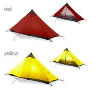 3F UL GEAR LanShan 1 2 Ultralight Rodless 3-4 Season Duralble Waterproof Professional Outdoor Camping Tent