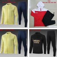 20 21 Arsen Trainingsanzug Kinder Erwachsene Fußball Fußballtraining Fußball Kits 2020 2021 Langarm Jersey Casual Sportswea