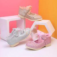 Arloneet sapatos 2020 quatro estações crianças meninas meninos couro antiderrapante princesa lace sapatos criança bebê casual partido ponto sola
