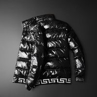 Herren-Daunenjacke Gansjacke Kanada 20s Jahre Winter Neues Spleiß-Stand-up-Kragen Casual Down Jacken Veste De Luxe Parka Windjacke