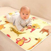 Decke wechselnde Matte Cartoon Blech wasserdicht Baby wechselnde Pad Blanke Windeln Tischwindeln Spiele Spielabdeckung Infant Blanket GGC2141