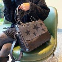 Mode Herbst Winter Diamant-namtige Kreuzkörper Weibliche Handtasche Temperament Mehrzweck Neue Schulter Pendler Tasche Bolso Mujer